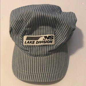 Norfolk Southern Lake Railroad hat conductor